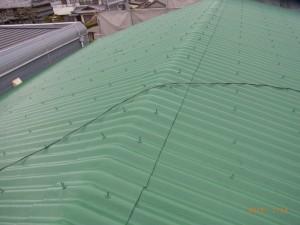 M様邸施工後屋根
